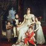 Gérard - Caroline Bonaparte et ses enfants