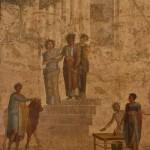 Jason et Pélias, maison de Jason, Pompéi, musée archéologique de Naples