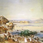 Gigante, la via di Posillipo,1856