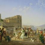 Goetzloff, Danseurs italiens, 1836