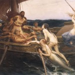 Herbert James Draper, Ulysse et les sirènes, 1909