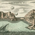 Homann, Castel dell'ovo, Napoli, 1734