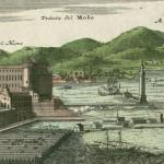 Homann, molo di napoli, 1734