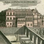 Homann, Palazzo del vicere, Napoli, 1734