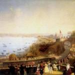 Fergole, Inaugurazione ferrovia di Napoli-portici