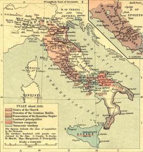 L'Italie au XIe siècle
