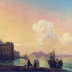 Ivan Aivazovsky, bay of naples, 1845