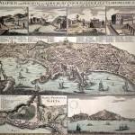 Johann-Baptist Homann, mappa di napoli e gaeta, 1727