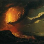 Joseph Wright, Vesuvius in eruption, 1780