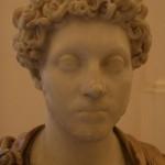 Marco aurelio giovane (c. 179 dc), museo archeologico di napoli