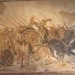mosaico, battaglia di alessandro, casa del fauno, pompei