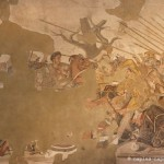 Mosaïque, bataille d'Alexandre, Maison du Faune, Pompéi