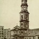 Foto antica di Napoli, carmine chiesa