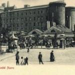 Foto antica di Napoli, Castel Nuovo