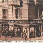 Foto antica di Napoli, Corso Umberto