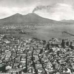 Foto antica di Napoli da san martino