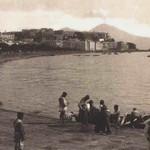 Foto antica di Napoli, golfo
