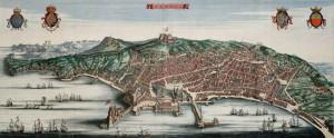 Napoli medioevo mappa