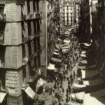 Mercato di Napoli. Foto antica