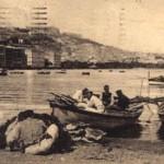 Foto antica di Napoli, Mergellina