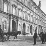 Foto antica di Napoli, Palazzo Reale