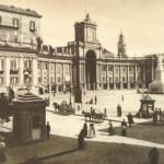 Napoli piazza dante foto antica