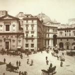 Napoli, foto antica, Piazza trieste e trento