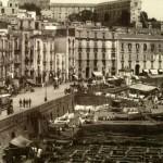Foto antica di Napoli, Santa-Lucia