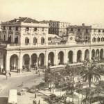 Foto antica di Napoli, stazione centrale