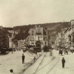 Foto antica di Napoli, torretta