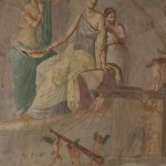 peinture, fresque, pompei, museo archeologico di napoli