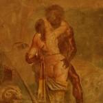 Scène érotique, cabinet secret, musée archéologique de NaplesPompéi