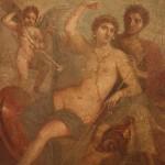 Persé et Andromède, casa dei capitelli colorati, pompéi, museo archeologico di napoli