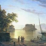 Pitloo, 1820, Napoli castel dell'ovo