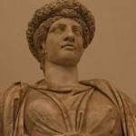 Pomona o flora (IIe dc), museo archeologico di napoli