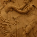 Rilievo, Ercolano, museo archeologico di napoli