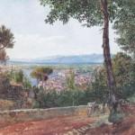 Rudolf von Alt, Castellammare, 1835