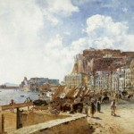 Rudolf von Alt, view of naples