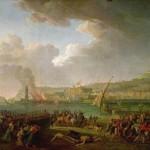 Taurel, l'armée française entre à Naples sous le général Championnet en 1799