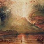 Turner, Vesuvio in eruzione, 1817