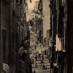 Vicolo del Palloneto, Foto antica di Napoli