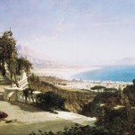 William Wyld, vue de la baie de Naples, 1868