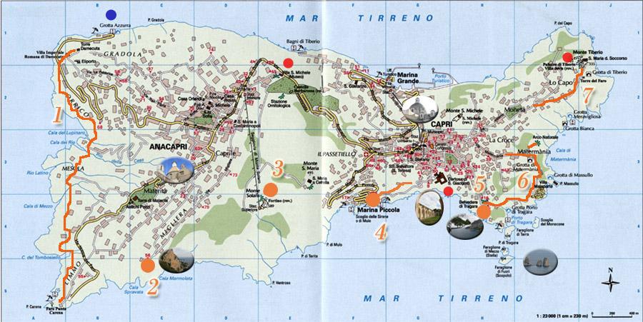 Carte de Capri