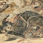 Mosaique, maison du faune, Pompéi