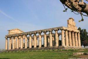 paestum temple de ceres ou athéna