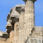 Temple de Neptune, cella, Poseidonia