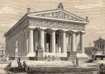 Paestum, vue d'artiste