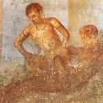Fresque érotique, lupanar de Pompéi