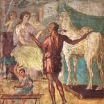 Pasiphaé, casa dei Vetti, Pompéi
