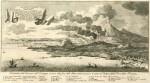 Dessin du Vésuve en 1761
